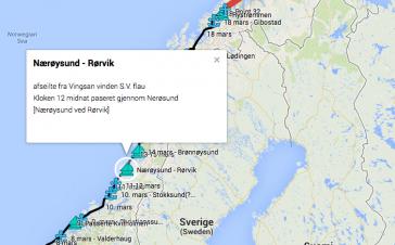 Bli med Gurine til Finnmark i 1886!