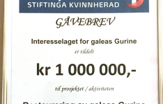 Ein million til Gurine!