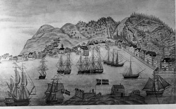 Gurine «feira» nyttår i Risør 1885!