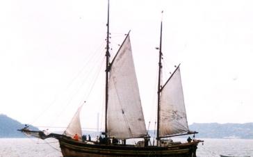 Galeasen Gurine under segl