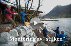 Montering av «stilken» – minutt for minutt